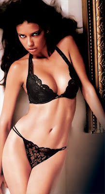 Adriana Lima in ultra sexy  lingerie