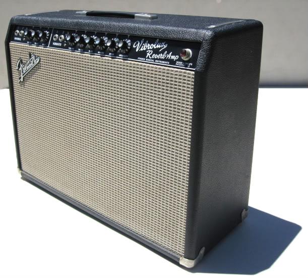 Vintage Fender Vibrolux Reverb 93