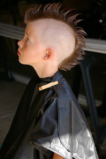 Mohawk Boys More Getting A Mohawk Haircut