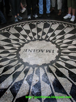 John Lennon Imagine Central Park New York