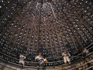 The steel sphere neutrino detector from the Gran Sasso National Laboratory of the Italian Institute of Nuclear Physics