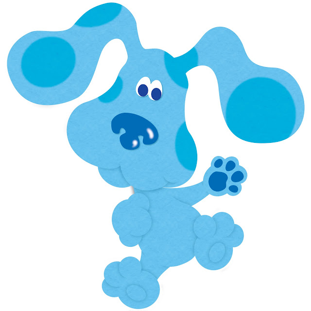 Images of Blue Clues.