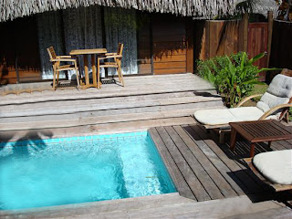 Moorea traveler for Garden pool bungalow moorea pearl resort
