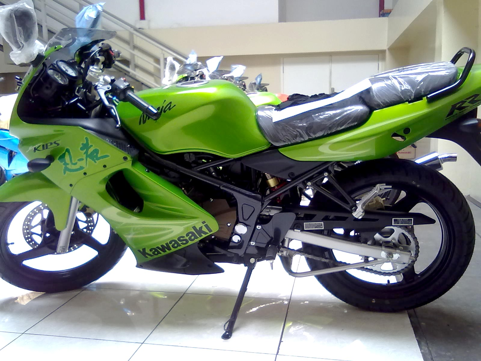 Launcing Kawasaki Ninja Tahun Modifikasi Motor