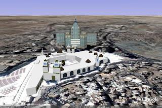 Model 3D Masjid Al-Haram Makkah 3