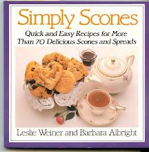 Simply Scones cookbook