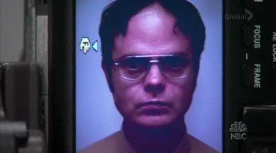 graphic relating to Dwight Schrute Id Badge Printable named Place of work Pranks: Dwights Badge
