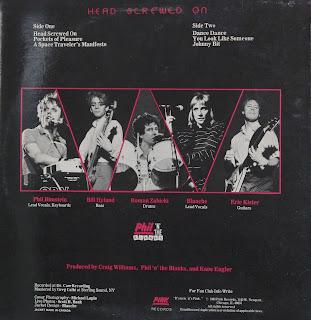 AZ Local: Phil 'N' The Blanks - Head Screwed On (1983)