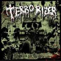 Terrorizer Darker Days Ahead album cover from Wikipedia