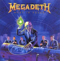 Megadeth Rust in Peace album cover