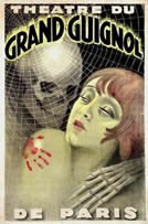A poster advertising the Grand Guignol theatre