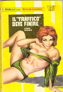 A typical cover of a giallo novel