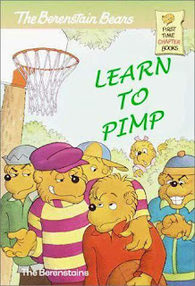 Berenstain Bears, not quite as you may know them.