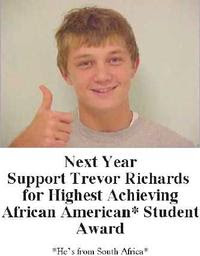 Trevor Richards. African-American.