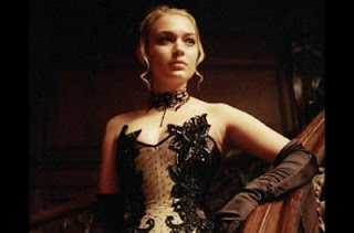 Sophia Myles as Erika in Underworld.