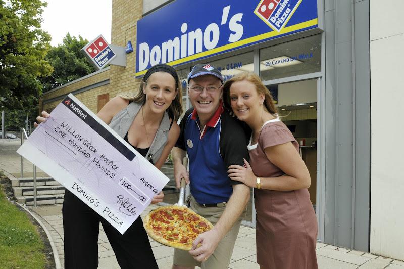 Willowbrook Hospice Domino's Pizza Huyton