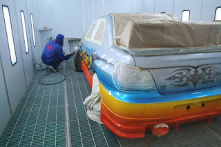 blog the paint on my fender isn 39 t going to match the rest of the car. Black Bedroom Furniture Sets. Home Design Ideas