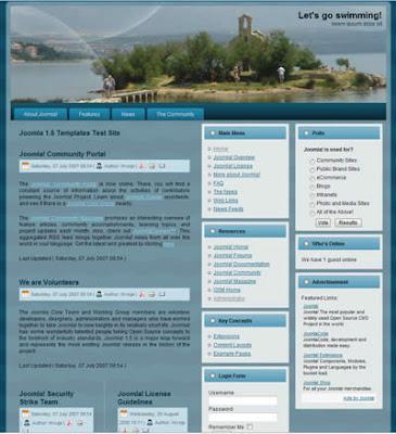 vacation joomla templates