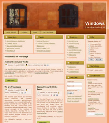 joomla templates windows