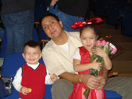 hubby and kids