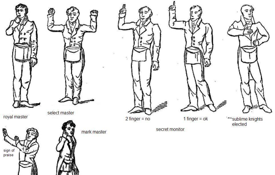 The Universal Seduction The 12 Masonic Signs Of Recognition
