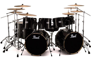 PEX11 Pearl EX Export 8pc Double Bass Drum Set With Free 7x8 Tom And Mounting Hardware This Makes A 9pc