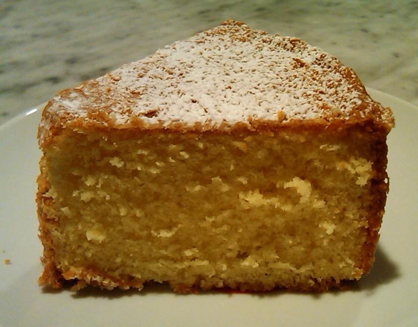 Norwegian Sour Cream Cake