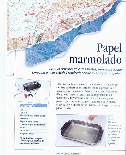 papel, marmolado, marmol, papel regalo, técnicas, métodos, manualidades