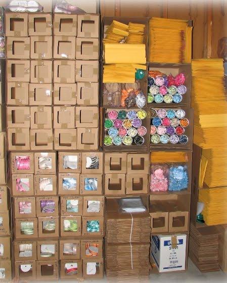 organizar, cajas, cartón, manualidades, reciclar