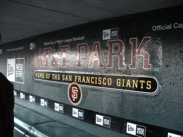 Behind the Scenes Tour of ATT Park in San Francisco
