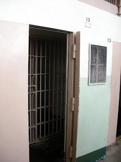 prison cell at Alcatraz