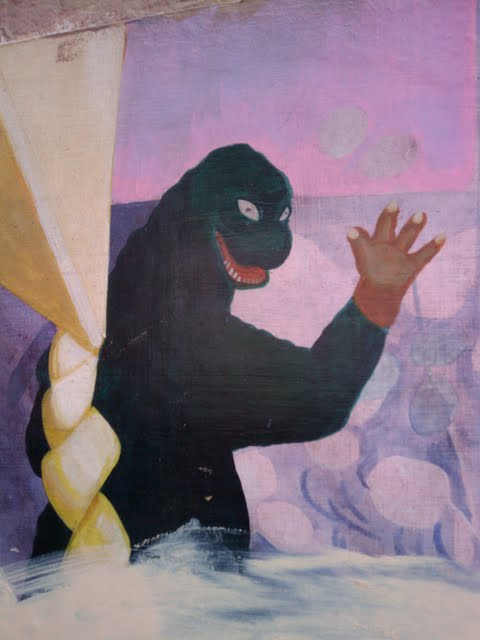 Barbary Coast Trail - Godzilla in Chinatown