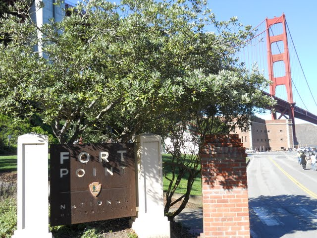 Fort Point Sign, San Franicisco