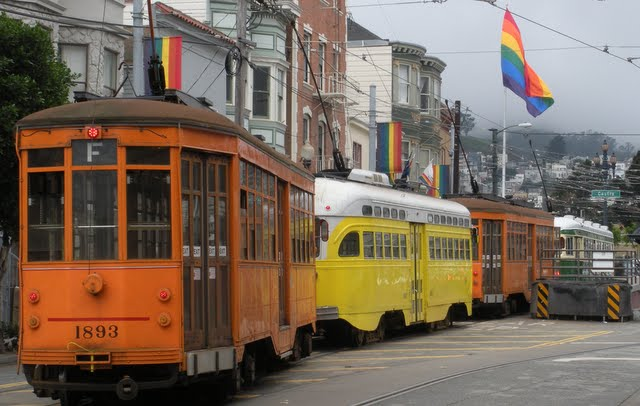 Why Lisbon Made me Nostalgic for San Francisco: San Francisco's Cable Cars
