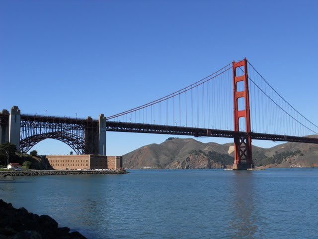 Why Lisbon Made me Nostalgic for San Francisco: SF's Golden Gate Bridge