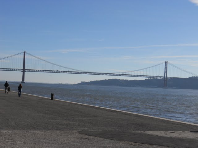 Why Lisbon Made me Nostalgic for San Francisco: Lisbon's Golden Gate Bridge