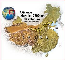 Teste ieceg muralha da china for A grande muralha da china