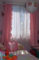 Decoraciones arlines cortinas dormitorio ni a - Cortinas nina dormitorio ...