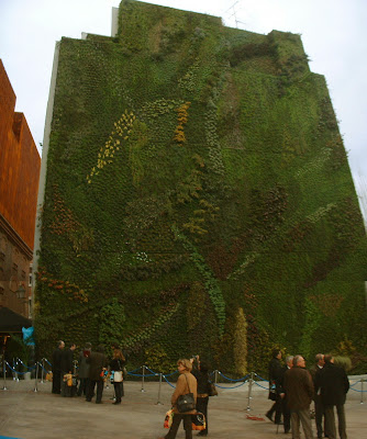 Renato photoblog un giardino verticale - Giardino verticale madrid ...