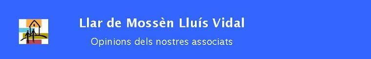 Llar de Mossèn Lluís Vidal