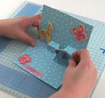 como hacer tarjetas postales: