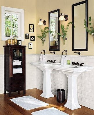 Serene Seneca: Light and Calming Bathrooms