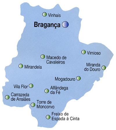 mapa de portugal continental distritos AuToCaRaVaNiStA: MAPAS DAS REGIÕES DE PORTUGAL CONTINENTAL mapa de portugal continental distritos