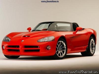 Red dodge viper Car Wallpaper