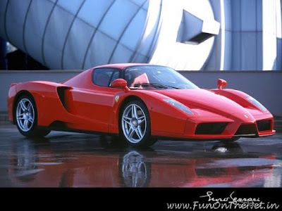 red car wallpaper. Red Ferrari nzo Car Wallpaper