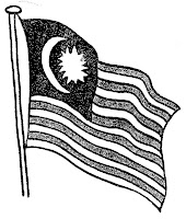 Bendera Selangor Hitam Putih Persoalan C