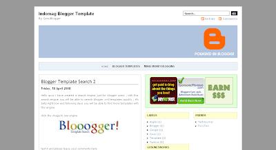 Blogger Xml Templates