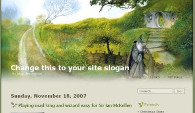 The Hobbit By Blogger Templates Itmag