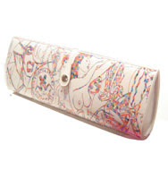 Boutique Oz: Patricia Field Girly Plastic Magazine Clutch :  patricia magazine celebrity style clutch