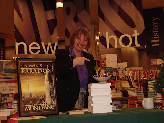 Darwins Paradox: Book Signing at Chapters
